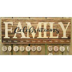 Family Birthdays & Celebrations Board