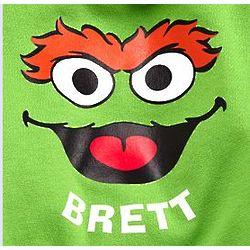Sesame Street's Personalized Oscar Kids Hoodie