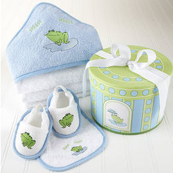 Finley the Frog Bath Time Gift Set