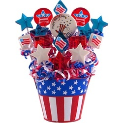 July 4th Lollipop Bouquet