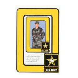 US Army Star Logo 2-Frame Photo Magnets