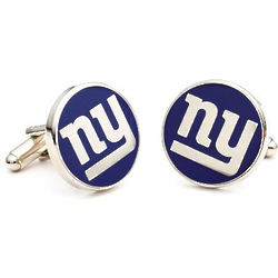 New York Giants Enamel Cufflinks