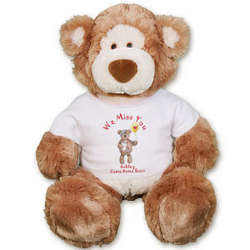 Personalized Get Well Plush Teddy Bear