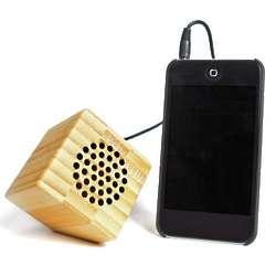 Bamboo USB Portable Speaker