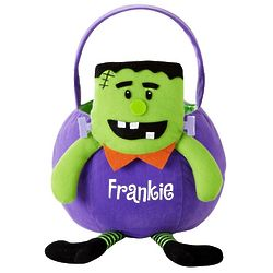 Frankenstein Personalized Leggy Halloween Basket