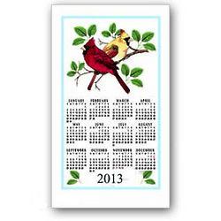 2013 Cardinals Calendar Towel