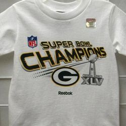 Green Bay Packers Super Bowl Toddler T-Shirt