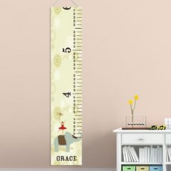 Personalized Circus Ballerina Height Chart