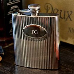 Empire Engraved Flask