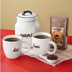 His, Hers and Ours Coffee Gift Set