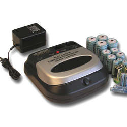 BC1HU Computer Controlled Superfast Charger + 18 batteries