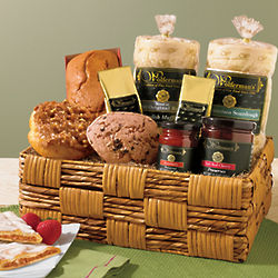 Deluxe Favorite Flavors Breakfast Gift Basket