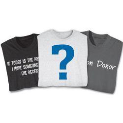 2 Mystery Shirts