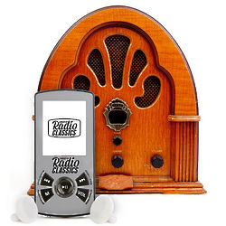 Digital Library of Radio Classics MP3 Player