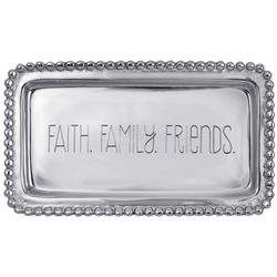 Faith Family Friends Serving Tray
