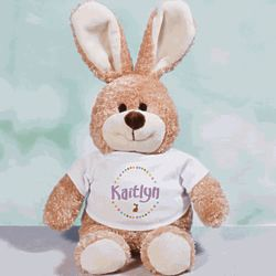 Easter Bunny Rabbit in Personalized T-Shirt