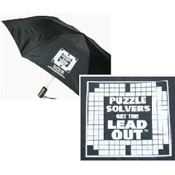 Puzzle Solvers Get The Lead Out Crossword Puzzle Umbrella