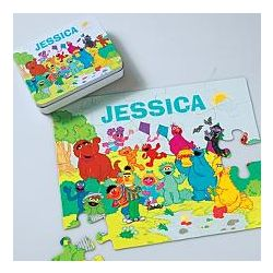 Sesame Street Personalized Gang Character Puzzle