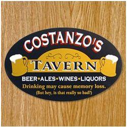 Drinking May Cause Memory Loss Custom Sign
