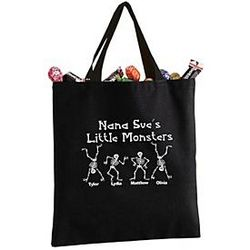 Personalized Halloween Totes - 6 Deisgns