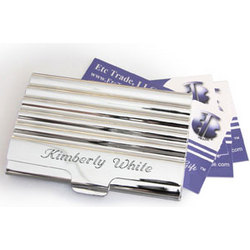 Personalized Executive Business Card Holder