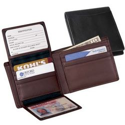 Leather Commuter Wallet