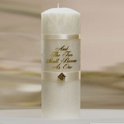 """Two Become One"" Unity Candle"