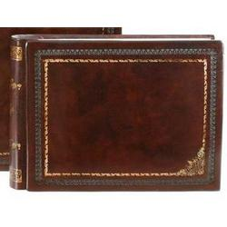 Gold Corners Small Leather Album