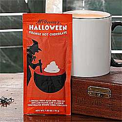 Special Brew Orange Colored Hot Cocoa