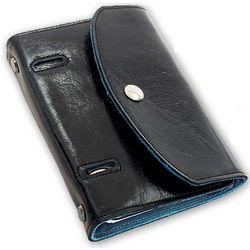 Flap-Style Leather Lined Binder
