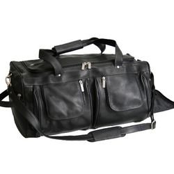 Vaquetta Nappa Duffel Bag with Shoe Compartment