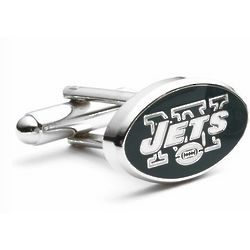 New York Jets Enamel Cufflinks