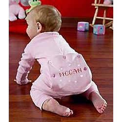 Personalized Toddler Valentine Long Johns