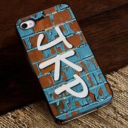 Graffiti iPhone Case with Black Trim