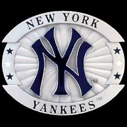 New York Yankees MLB Oversized Buckle