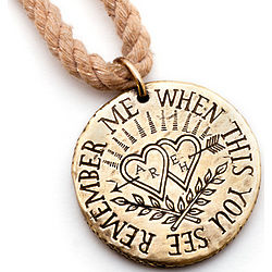 Personalized Love Token Necklace