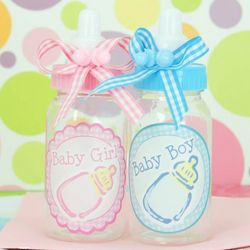 Mini Baby Boy or Girl Plastic Baby Bottle