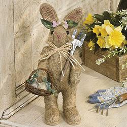 Jute Bunny Figurine