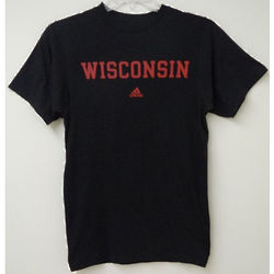 Men's Black Wisconsin T-Shirt
