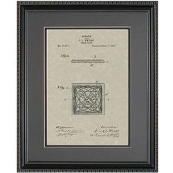 Prism Light Framed Patent Art Print