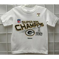 Youth's Green Bay Packers Super Bowl T-Shirt