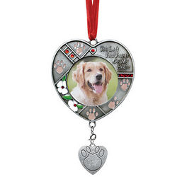 Dog or Cat Remembrance Photo Ornament