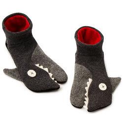 Handmade Shark Slippers