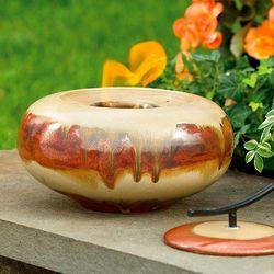 Glazed Ceramic Tabletop Firepot