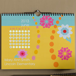 Just Her Style Personalized Wall Calendar