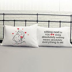 You Mean Everything to Me Couple Pillowcases