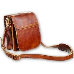 Leather Shoulder Bag/Satchel