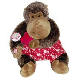 Heart Beating Plush Gorilla