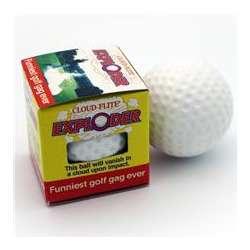 The Exploder Golf Ball
