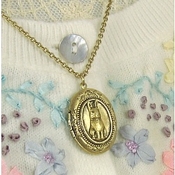 Bunny Locket Necklace